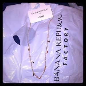Mini celestial charm necklace